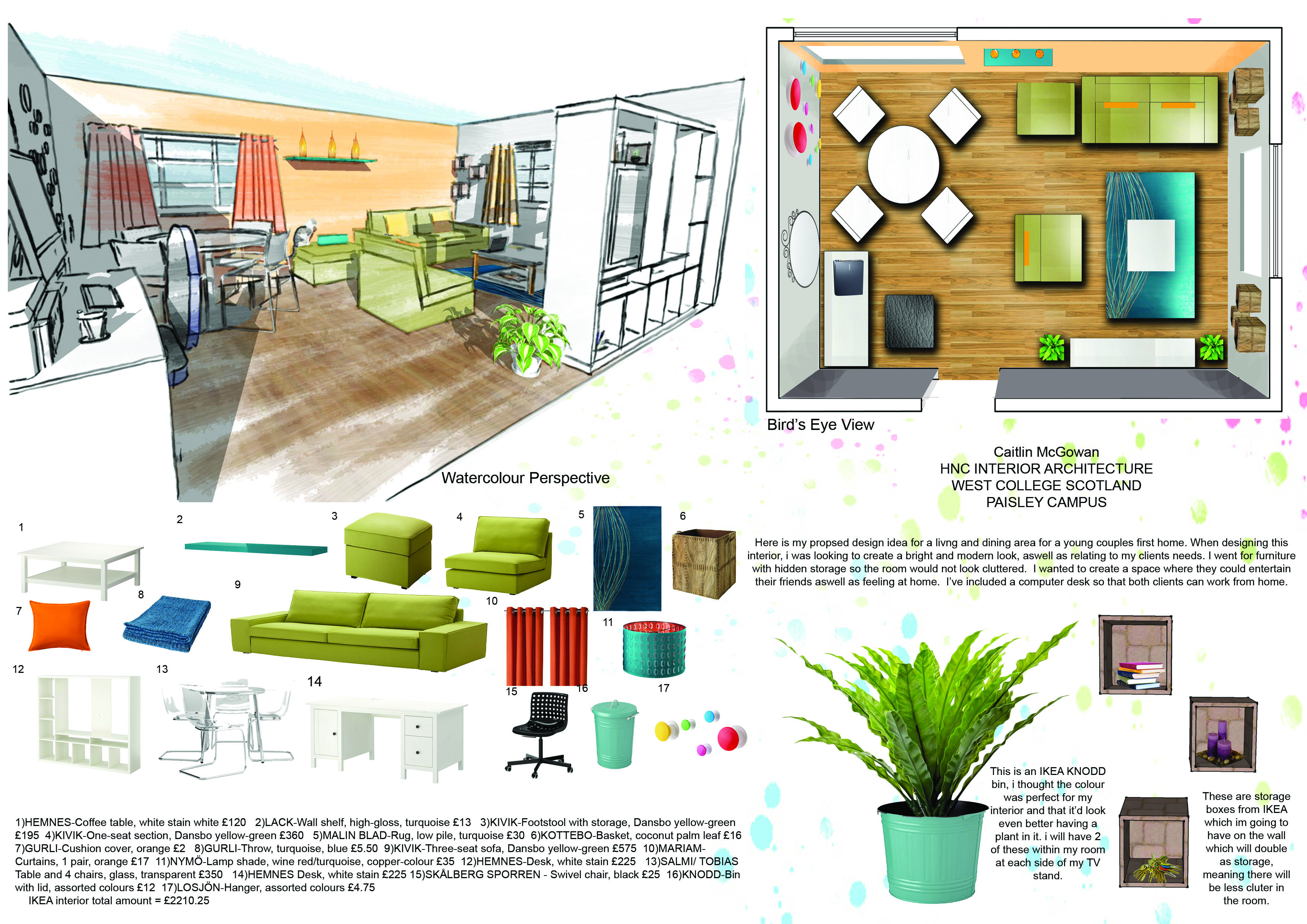 Caitzmcgowanblog Interior Design Student This course enables students to explore their interest and creativity in the field of interior design. caitzmcgowanblog interior design student